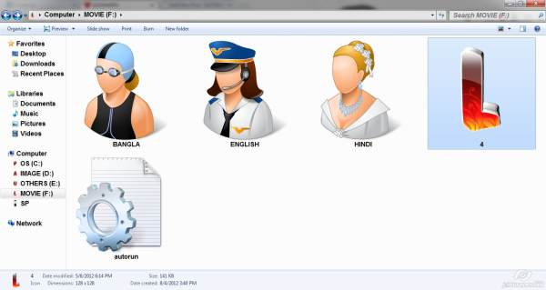 Change PC's Drive Icons