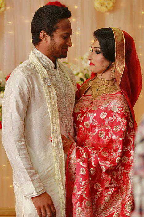 Shakib Al Hasan and ShiShir Wedding Photo