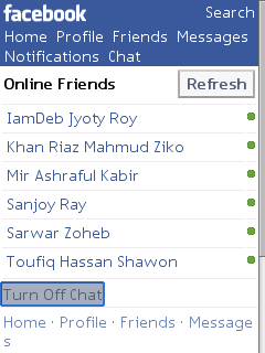 Solution of Unwanted 24 Hours Online in Facebook Chat