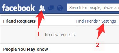 Limit Facebook Friend Requests