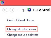 How to Bring My Computer icon in Windows 8 Desktop Screen
