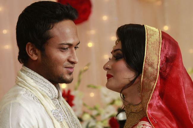 Shakib Al Hasan Marriage/Wedding Photos with Umme Ahmed Shishir