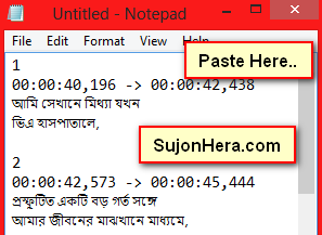 Translate English Movie Subtitle into Bangla Language