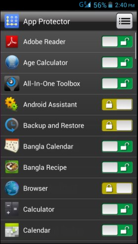 App Lock: Protect Your Android Apps By Password/Pattern