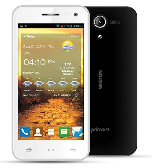 Walton Primo F3: Android Phone Full Specifications & Price
