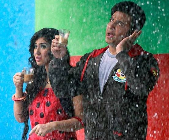 Images of Shakib Khan And Apu Biswas