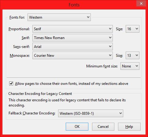 Bangla font problem in laptop