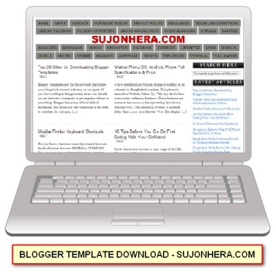 Top 20 Sites for Downloading Blogger Templates