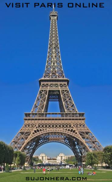 Visit Paris Online From Top Of The Eiffel Tower