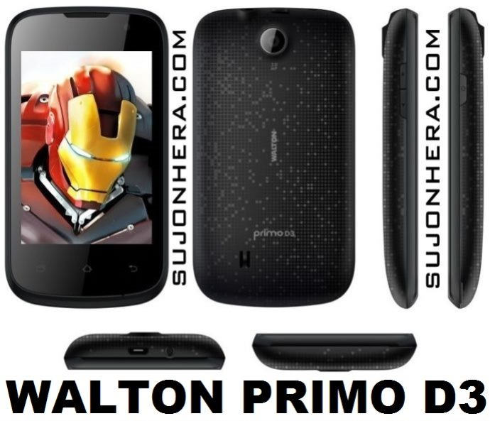 Walton Primo D3: Android Phone Full Specifications & Price