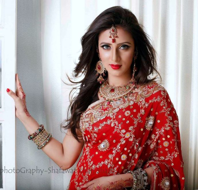 Bidya SInha Saha Mim: Bangladeshi Model Actress Biography & Photos
