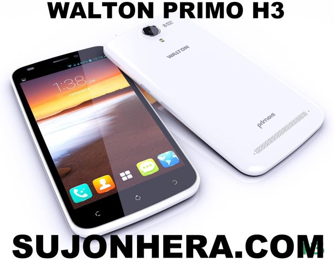 Walton Primo H3: Android Phone Full Specifications & Price