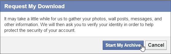 How To Download All Data You Shared From Facebook
