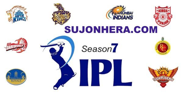 Pepsi IPL 7 T20 2014 Schedule, Teams, Players, Points Table