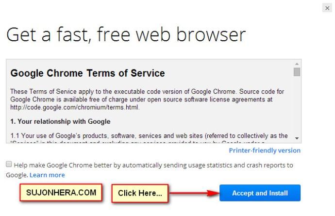 Google Chrome Offline Installer Direct Link