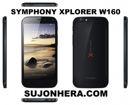Symphony Xplorer W160: Full Phone Specifications & Price