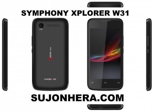 Symphony Xplorer W31: Full Phone Specifications & Price