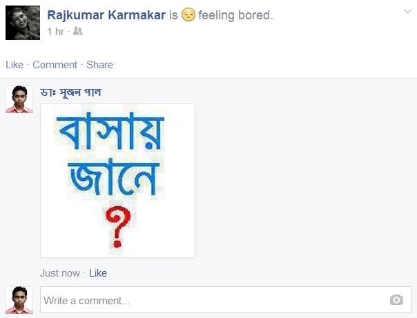 Facebook Photo Comment