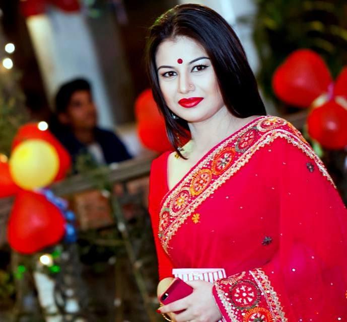 Farhana Nisho Hot BD Model News Presenter