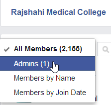 How To Find Admin of Any Facebook Group