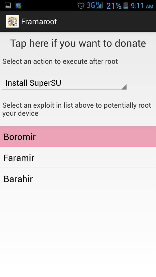 HOW TO ROOT ANDROID MOBILE PHONE FARMAROOT