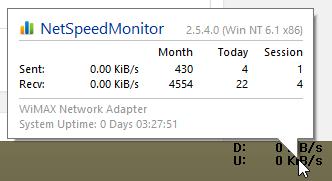 Net Speed Monitor DU Meter Alternative