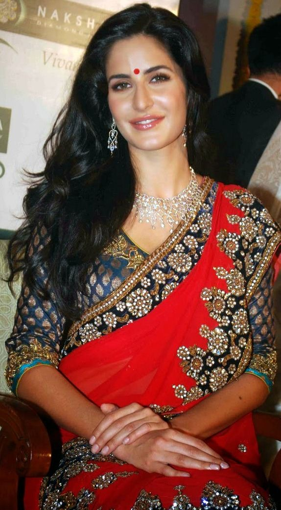 Katrina Kaif Saree Photos Images Wallpapers HD