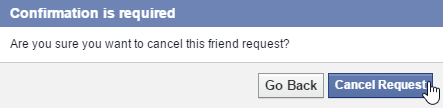 Check Who Did Not Accept Your Facebook Friend Request
