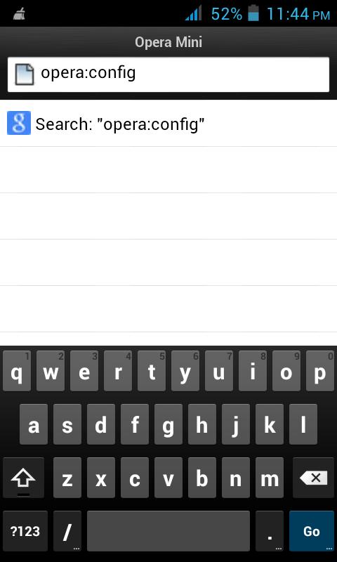 How to see BanglaHindi in Opera Mini