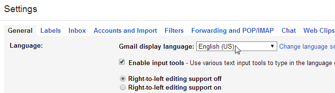 How To Use Gmail In Bangla Or Other Languages