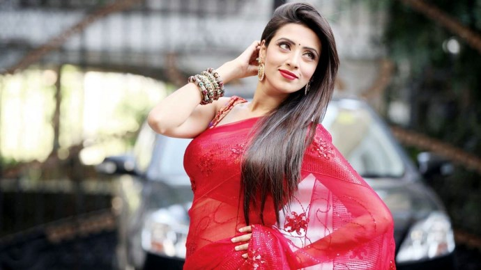 Bidya Sinha Saha Mim HD Photo Wallpaper