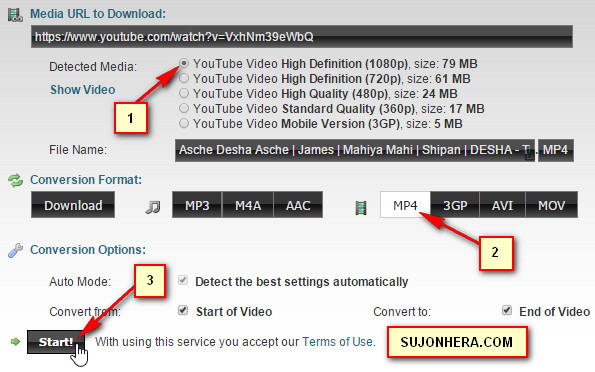 How To Download 1080P YouTube Videos With Audio