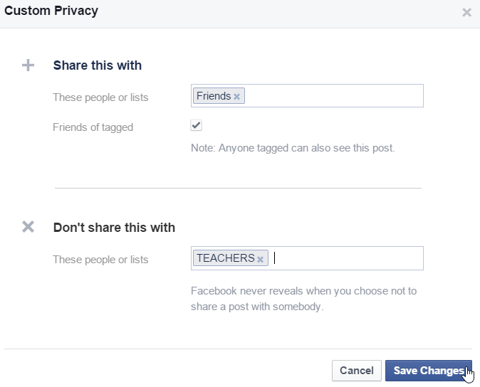 How To Hide Facebook Posts From Anyone In Friend List