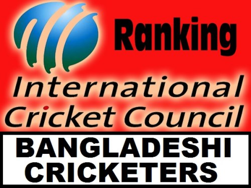 ICC Cricket Rankings For Bangladeshi Players Updated Daily