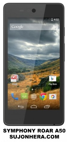 Symphony Roar A50 Full Phone Specifications & Price