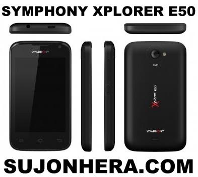Symphony Xplorer E50 Full Phone Specifications & Price