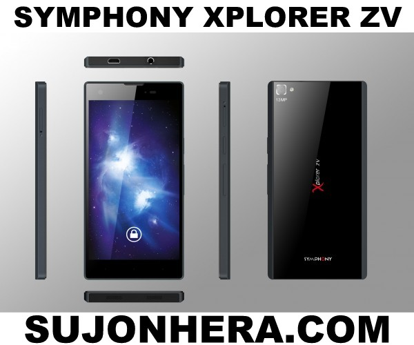 Symphony Xplorer ZV Full Phone Specifications & Price