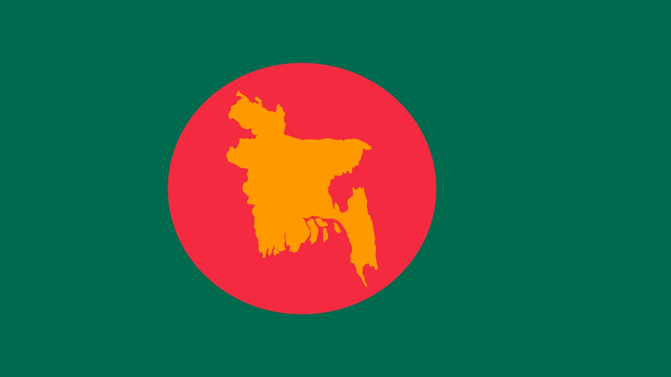 Bangladesh Love Flag