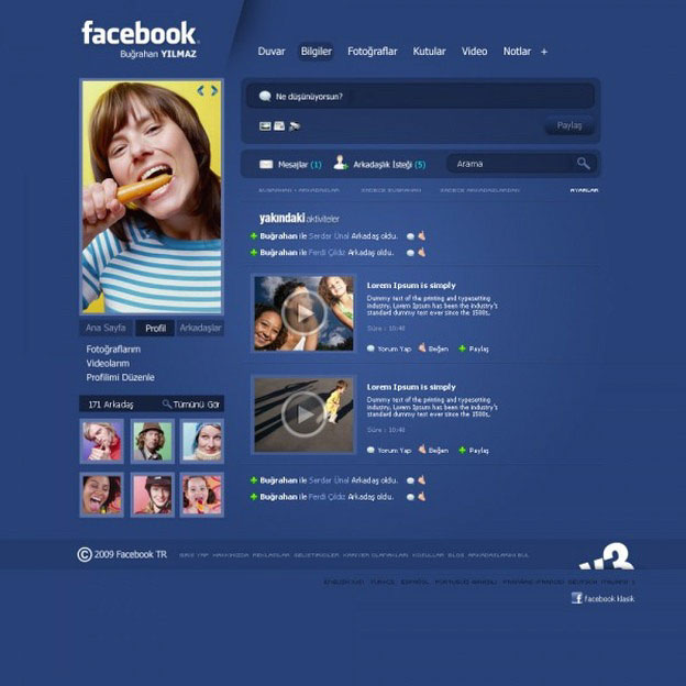 Facebook Future Layout Concept Images By Designers