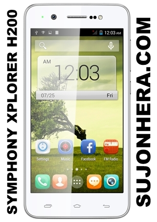 Symphony Xplorer H200 Full Phone Specifications & Price