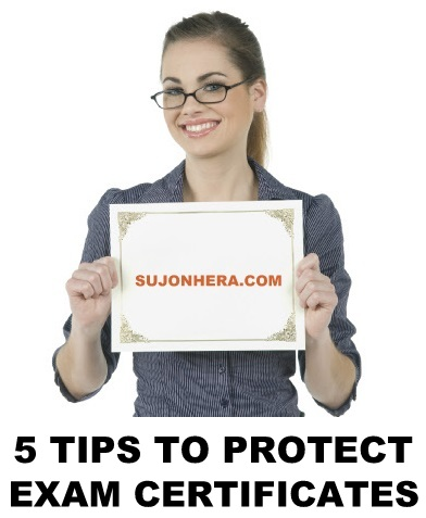 5 Tips To Protect Your Examination Certificates Securely