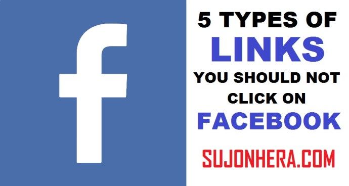 5 Types Of Links You Should Not Click On Facebook