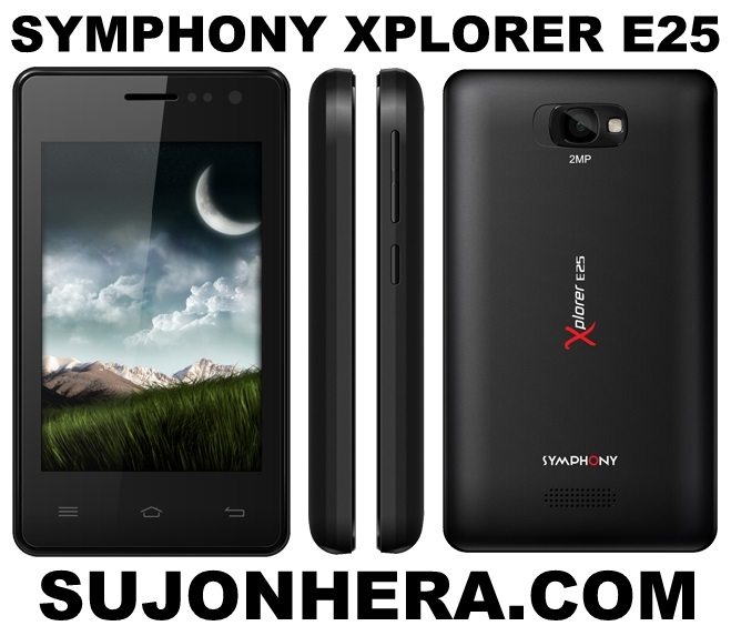 Symphony Xplorer E25 Full Phone Specifications & Price
