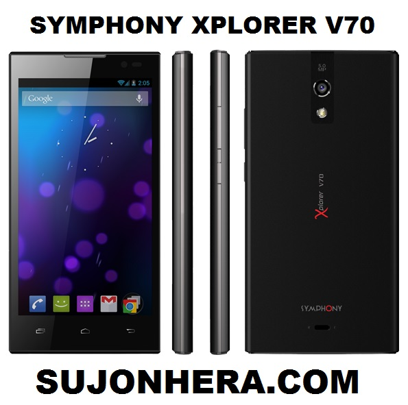 Symphony Xplorer V70 Full Phone Specifications & Price