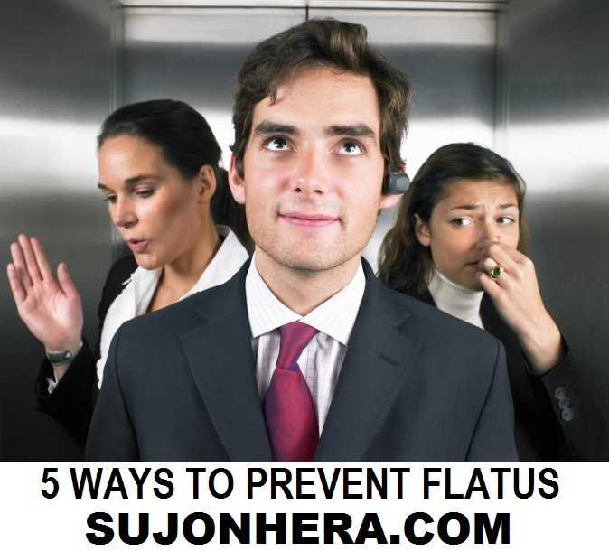 5 Effective Ways To Control Or Prevent Flatus In Public Places