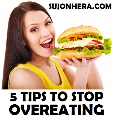 5 Tips To Stop Overeating & Keep Your Body Fit