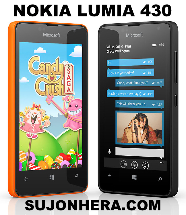 Nokia Lumia 430 Windows Phone Full Specifications & Price