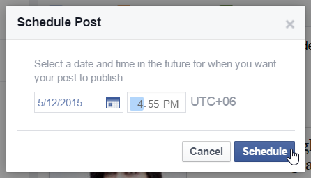 How To Schedule Posts For Future From Facebook Pages