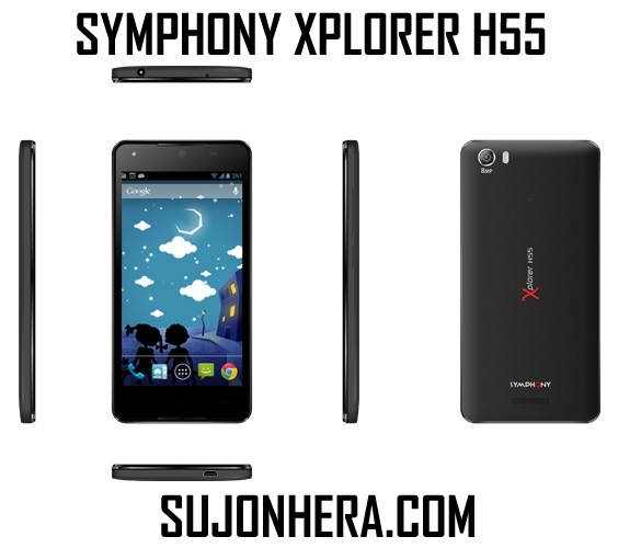Symphony Xplorer H55: Full Phone Specifications & Price