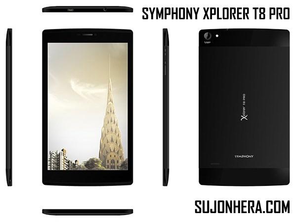 Symphony Xplorer T8 Pro Tab Full Specifications & Price